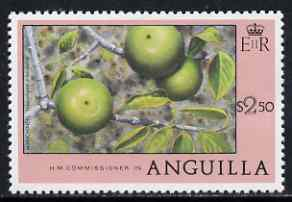 Anguilla 1977-78 Manchineel $2.50 (from def set) unmounted mint, SG 287