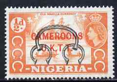 Cameroun 1960-61 Old Currency 0.5d (from def set) unmounted mint SG T1