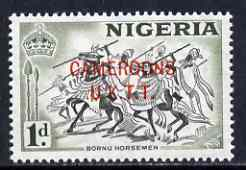 Cameroun 1960-61 Bornu Horsemen 1d (from def set) unmounted mint SG T2