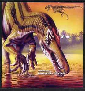 Benin 2003 Dinosaurs imperf m/sheet unmounted mint