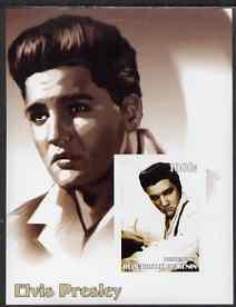 Benin 2002 Elvis Presley imperf s/sheet #02 unmounted mint