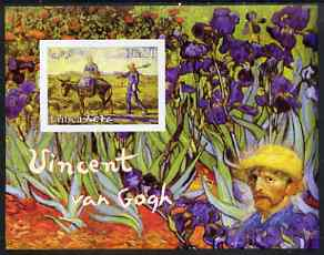 Eritrea 2003 Vincent Van Gogh imperf souvenir sheet unmounted mint