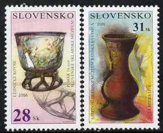 Slovakia 2006 Vases perf set of 2 unmounted mint