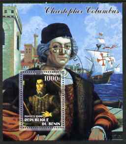 Benin 2006 Christopher Columbus #1 perf m/sheet cto used