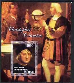 Benin 2006 Christopher Columbus #2 perf m/sheet cto used