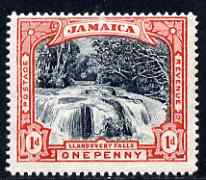 Jamaica 1900-01 Llandovery Falls 1d black & red unmounted mint, SG32