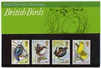Great Britain 1980 Centenary of Wild Birds Protection Act set of 4 in official presentation pack