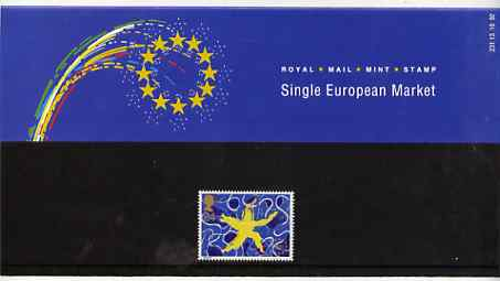 Great Britain 1992 Single European Market 24p in official presentation pack
