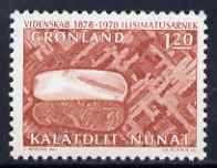 Greenland 1978 Scientific Research 1k20 unmounted mint, SG 98