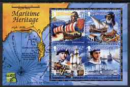 Gibraltar 1999 Maritime Heritage perf m/sheet unmounted mint, SG MS876