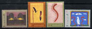 Australia 1993 Int Year of Indigenous People - Aboriginal Art perf set of 4 unmounted mint, SG 1417-20