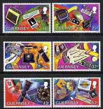 Guernsey 1997 Communications perf set of 6 unmounted mint SG 741-6