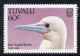 Tuvalu 1988 Red-Footed Booby 60c unmounted mint SG 513