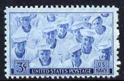 United States 1948 US Navy 3c unmounted mint, SG 932