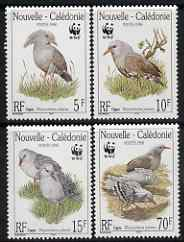 New Caledonia 1998 WWF - The Kagu perf set of 4 unmounted mint SG 1150-53