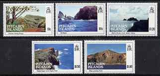Pitcairn Islands 1993 Island Views perf set of 5 unmounted mint SG 431-35