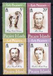 Pitcairn Islands 1994 Early Pitcairners perf set of 4 unmounted mint SG 446-49