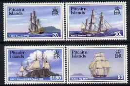 Pitcairn Islands 1998 Ships perf set of 4 unmounted mint SG 530-33