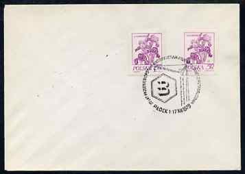 Poland 1979 cover with Petro-Chemical illustrated cancel