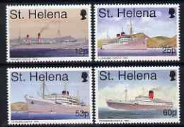 St Helena 1996 Union Castle Mail Ships #1 perf set of 4 unmounted mint SG 710-13