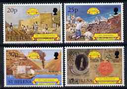 St Helena 1998 500th Anniversary of Discovery #2 perf set of 4 unmounted mint SG 762-65