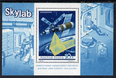 Hungary 1973 Skylab m/sheet unmounted mint SG MS 2835 (Mi Bl 101)