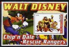 Malawi 2006 Walt Disney - Chip'n Dale perf m/sheet unmounted mint