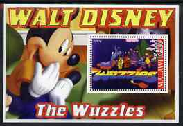 Malawi 2006 Walt Disney - The Wuzzles perf m/sheet unmounted mint