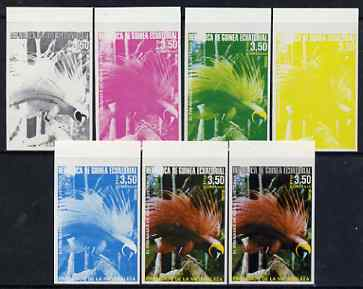 Equatorial Guinea 1974 Australian Birds 3P50 Raggi