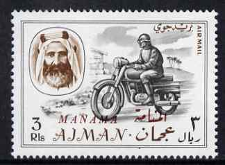 Manama 1967 Motorbike 3R opt