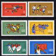 Germany - East 1977 Gymnastics & Athletic Meeting perf set of 6 unmounted mint, SG E1956-61