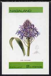 Nagaland 1973 Scilla peruvianum imperf souvenir sheet (2ch value) unmounted mint