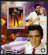 Palestine (PNA) 2007 Elvis Presley perf m/sheet with Scout Logo, unmounted mint