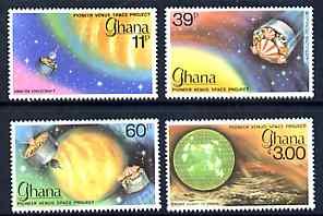 Ghana 1979 Pioneer Venus Space Project perf set of 4 unmounted mint, SG 872-75