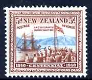 New Zealand 1940 HMS Britomar 5d unmounted mint, SG 620