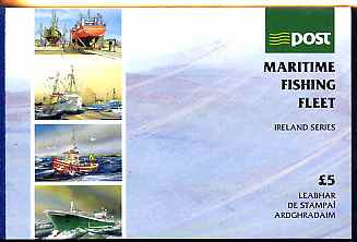 Booklet - Ireland 1991 Fishing Fleet \A35 booklet complete & fine SG SB41