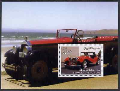 Somalia 2004 Early Cars #1 perf m/sheet unmounted mint