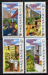 Singapore 1997 Housing & Development perf set of 4 unmounted mint SG 896-9