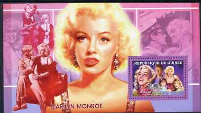 Guinea - Conakry 2006 Marilyn Monroe perf s/sheet #3 containing 1 value (Film Scenes) unmounted mint Yv 327
