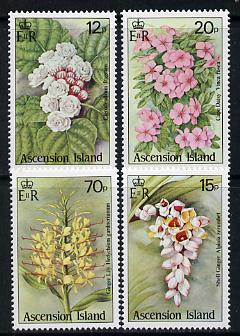 Ascension 1985 Wild Flowers set of 4 unmounted mint, SG 389-92