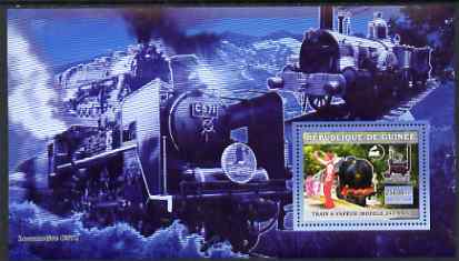 Guinea - Conakry 2006 Steam Trains - Modele 241-A-65 large perf s/sheet containing 1 value unmounted mint