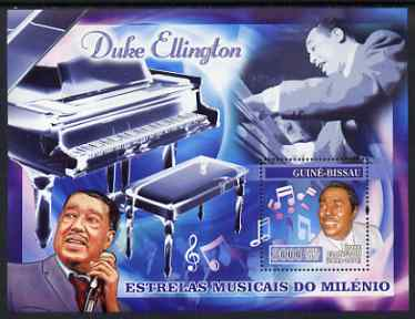 Guinea - Bissau 2007 Music Stars perf s/sheet containing 1 value (Duke Ellington) unmounted mint, Yv 344