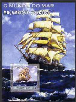 Mozambique 2002 Ships perf s/sheet containing 1 value unmounted mint Yv 145