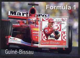 Guinea - Bissau 2001 Ferrari Cars (F1) perf s/sheet containing 1 value unmounted mint Mi Bl 366