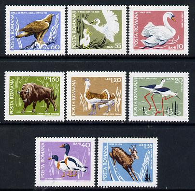 Rumania 1968 Birds set of 6 from Fauna set unmounted mint, SG 3598-3603, Mi 2724-29