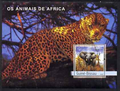 Guinea - Bissau 2003 Animals of Africa #2 perf s/sheet containing 1 value unmounted mint Mi BL428