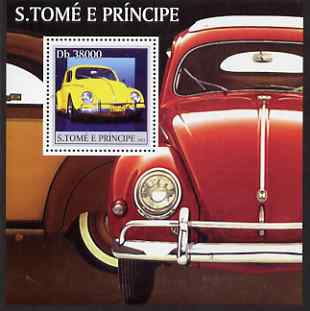 St Thomas & Prince Islands 2003 Volkswagen Cars perf s/sheet containing 1 value unmounted mint Mi BL457, Sc 1545