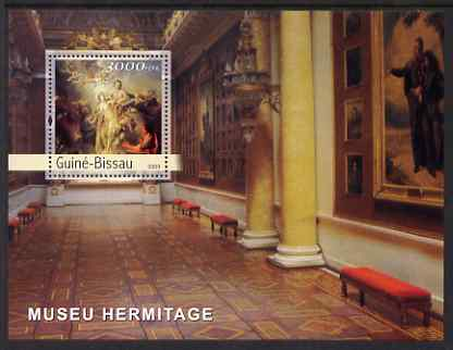 Guinea - Bissau 2003 The Hermitage Museum perf s/sheet containing 1 value unmounted mint Mi BL411