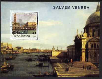 Guinea - Bissau 2003 Saving Venice perf s/sheet containing 1 value unmounted mint Mi BL400