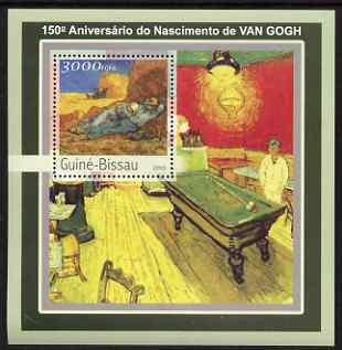 Guinea - Bissau 2003 150th Birth Anniversary of Vincent Van Goth perf s/sheet containing 1 value unmounted mint Mi BL390